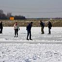 De ijsbaan in Lemelerveld als eerste open in de regio