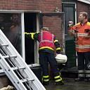 Appartement uitgebrand van camping in Luttenberg