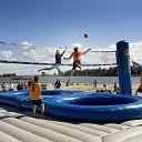 Bossaball en beachvolleybal tijdens Stöppelhaene