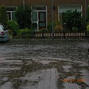 Wateroverlast in delen van Salland