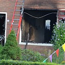 Uitslaande woningbrand wekt gezin in Luttenberg