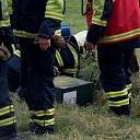 Grasmaaier veroorzaakt gaslekkage aan de Wechterholt