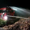 Buitenbrand bij boerderij Slennebroekerweg Hoonhorst