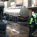 Tankwagen lekt soja olie Booijink Raalte