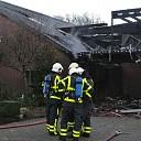 Zeer grote brand verwoest schuur Engellandweg Dalfsen
