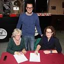 Nieuwe 'bewoners' Elckerlyc ondertekenen overeenkomst