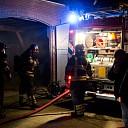 Oververhitte koelkast vat vlam in Boerhaar
