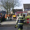 Gaslekkage aan de van der Kettenstraat in Luttenberg