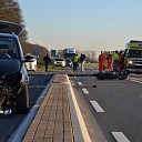 Motorrijder (20) gewond bij ongeval Rijsstraatweg te Olst
