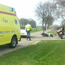 Ongeval tussen scooter en auto Knapenveldsweg te Raalte