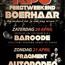 Feestweekend KPJ Boerhaar 20 en 21 April 2013