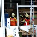 Explosiegevaar bij Houthandel Jos Dennebos in Raalte