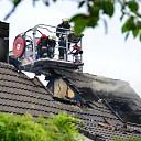 Zolderbrand aan de Hendrina Broekmanstraat in Zwolle