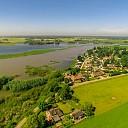 Water in de IJssel bij Olst-Wijhe blijft stijgen