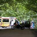 Scooterrijder gewond bij aanrijding op de Pruimersallee