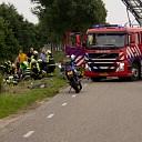 Twee gewonden bij ongeval op de Lierderholthuisweg