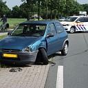Gewonde bij ongeval Wijheseweg Broekland