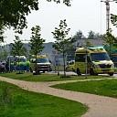 Fietsters gewond bij aanrijding met bestelbus in Wijhe