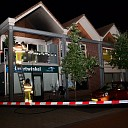 Brand in appartement boven buurtwinkel in Broekland