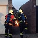 Gaskacheltje in brand geraakt in Raalte-Noord
