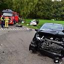 Gewonde bij ongeval op de Butzelaarstraat in Luttenberg