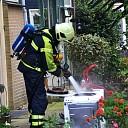 Brandweer rukt uit voor brandende wasdroger in Raalte