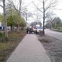 Gaslucht aan de Westdorplaan in Raalte