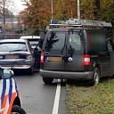 Drie auto's botsten op de Almelosestraat in Raalte