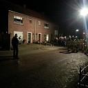 Schoorsteenbrand aan de Begoniastraat in de Boskamp