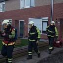 Veel rookontwikkeling bij keukenbrand in Raalte