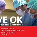 Live meekijken bij operatie in Deventer Ziekenhuis