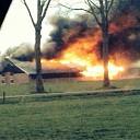 Uitslaande brand in schuur bij Mariënheem (update)