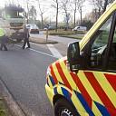 Vrouw gewond na aanrijding met vrachtwagen in Raalte