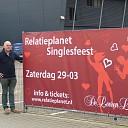 Relatieplanet feest op 29 maart in De Leeren Lampe