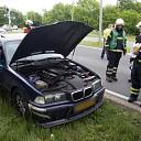Auto begint te roken op de N35 bij Heino