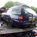 Automobilist belandt in sloot bij Broekland