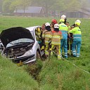 Eenzijdig ongeval op N348 bij Wesepe