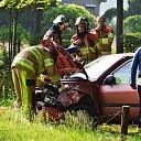 Vrouw raakt gewond bij ongeval Eikelhofweg in Olst