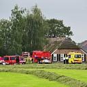 Brand in schuur aan de Wechterholt in Heino