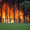 Schuur verwoest door brand in Mariënheem