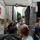 Straat in Zwolle afgezet na schade aan steunconstructie