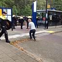 Go Ahead Eagles supporters aangehouden in Wijhe