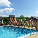 Opening zwembad op Landgoed Old Heino