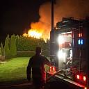 update: Grote brand in schuur Het Roode Hert in Dalfsen