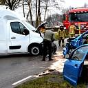 Ongeval tussen twee voertuigen in Heerde