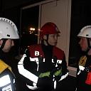 Jeugdbrandweer Deventer oefent bij De Leeren Lampe in Raalte