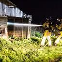 Getuigen gezocht: Schuurbrand in uiterwaarden bij Olst