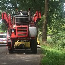 Gewonde na botsing tegen tractor in Raalte