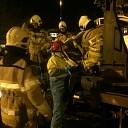 Brandweerteams oefenen treinongeval in Deventer