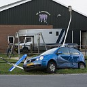 Auto's botsen op kruising in Dalmsholthe